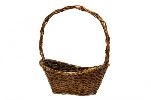 Walnut strip basket