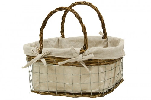 Nest metal basket