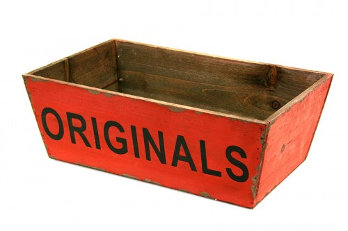 Originals red tray