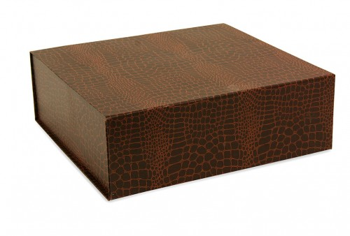 Brown folding box