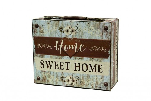 Maleta home sweet home blue