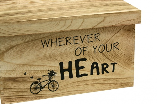 Caja wherever of your heart