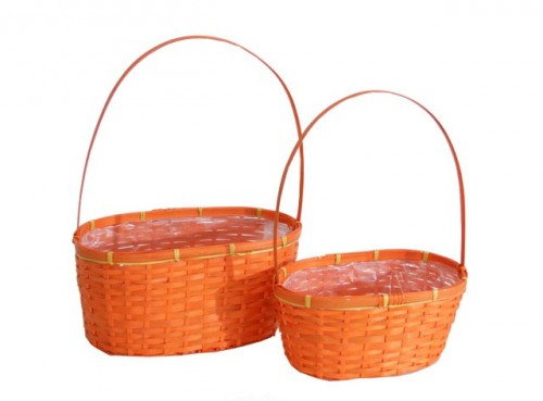 Cesta orange set/2