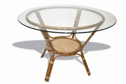 Natural cane big table