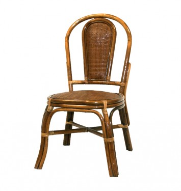 Smooth cane chair