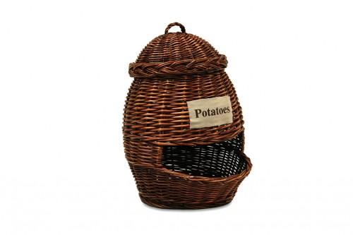 Potato storage basket