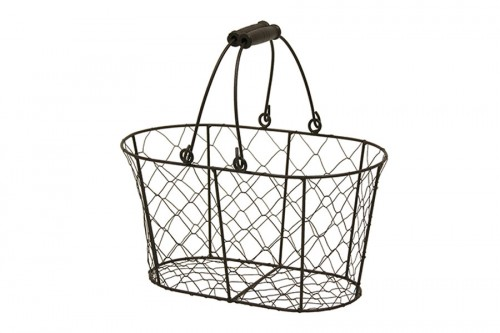 Gallinero basket with movable handles
