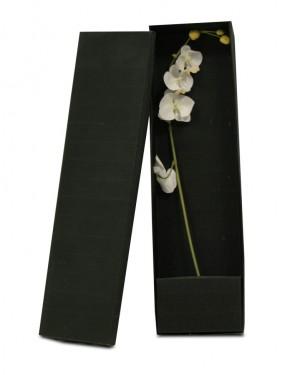 Black flower holder box