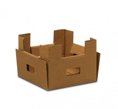 Caja carton brown