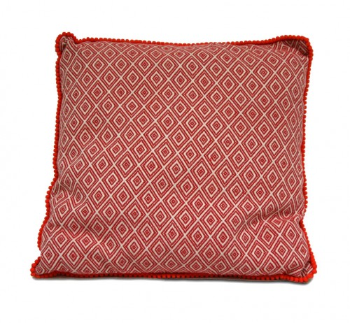 Coussin alcala rouge